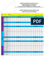Program Jadwal Pbm Respati 1