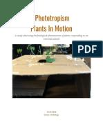 plant report