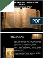 Sumbangan Tamadun Islam - Penterjemahan