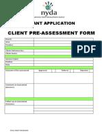 Grant ApplicationForm