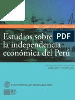 Estudios Sobre La Independencia Económica Del Perú
