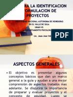 Guia Para La Identificacion y Formulacion de Proyectos