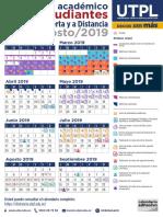 Cale Grado MAD Abril 2019 Agosto 2019 Principales