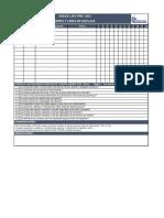 Checklist Preuso Arnes - Contratista