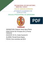 PRINCIPIOS DE HIDRAULICA