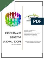 Programa de Bienestar Laboral Social Fundesa AGL