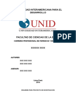 0 Esquema Proyecto Informe