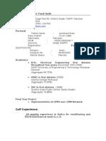 Fazal CV New
