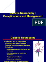 Diabetic Neuropathy - Clinical and Management