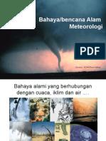 Bencana Alam Meteorologi