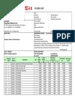 Packing List Demag CC2800-1