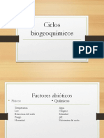 Clase 9- Factores Abióticos y Ciclos Biogeoquímicos