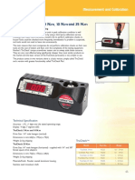 Torque Wrench Calibrator