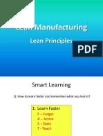 Lean Manufacturing 1st Class