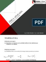 Termometria y Dilatacion