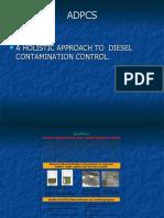Diesel contamination control