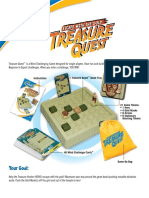 Treasure Quest Instruction Sheet