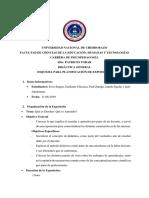 Informe de Exposición-didáctica General