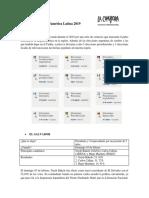 Informe Electoral AL 2019