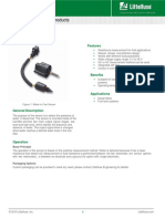 Littelfuse Sensor Automotive Water Fuel Datasheet
