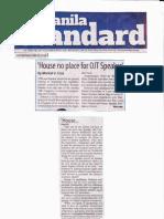 Manila Standard, June 19, 2019, House no place for OJT Speaker.pdf