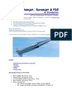 Ramjet Scramjet and Pde an Introduction