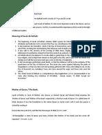 Importance of Surah Al Fatihah-Final