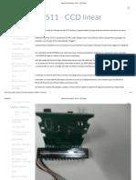 Arduino Solucionática - ILX511 - CCD linear