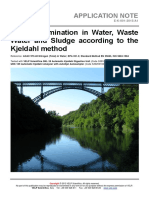 VELP Application Note Water-Sludge E-K-001-2015 1