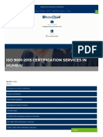 ISO 9001-2015 Certification Services in Mumbai