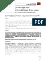 TAR-La posición epistemológica del constructivismo simétrico de Bruno Latour.pdf