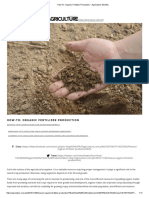 How-To_ Organic Fertilizer Production – Agriculture Monthly