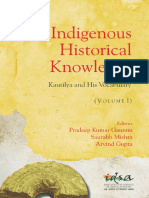 Book IndigenousHistoricalKnowledge Vol-I