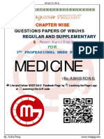 MEDICINE 2018-2008 Regular-Supplementary Chapter Wise Question Papers WBUHS