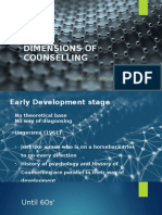 Dimensions of Counselling