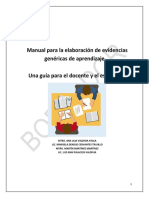 Manual de Evidencias de Aprendizaje Secundaria (BORRADOR) - Copiar