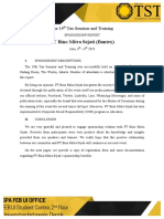 The 19th Tax Seminar and Training SPONSORSHIP REPORT PT Bina Mitra Sejati-1