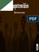 Imputrescibles - Livre Du Meneur