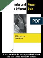 Krishna Sen - Gender and Power in Affluent Asia (New Rich in Asia) (1998)