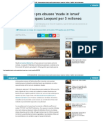 NOTICIAS MILITARES - Defensa Compra en Israel Proyectiles Para Los Tanques Leopard Por 3 Millones - España - Diario La Informacion