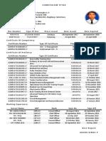 Resume COC4 M