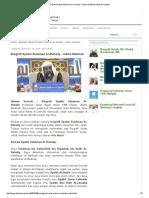 Biografi Syaikh Sulaiman Ar-Ruhaily - Ulama Madinah