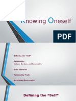 Knowing Oneself