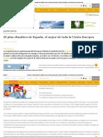 El Plan Climático de España, El Mejor de Toda La Unión Europea - Energías Renovables, El Periodismo de Las Energías Limpias