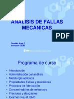 Analisis Fallas Mecánicas Mromero