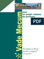 Vademecum Culture Territoire RIA Sud-Est