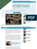 REGISTRO HORARIO - El Trabajador Puede Probar Que No Cobra Las Horas Extra (y Exigirlas a La Empresa) - Economía - Diario La Informacion