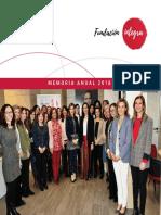 Memoria de actividades 2018 de Fundación Integra