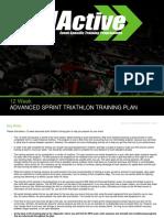 08 Training Plan 06 12 Week Sprint Advanced Program