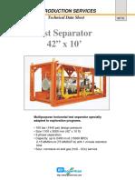 Test Separator Wt 16